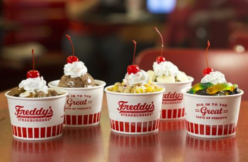 Celebrate Freddy's 93rd Birthday with 93-Cent Frozen Custard Treats