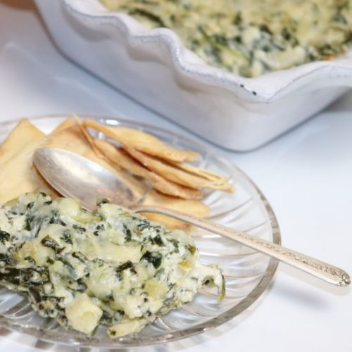 Spinach and Hearts of Palm Dip