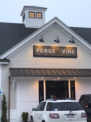 Forge & Vine: Groton's New Culinary Destination