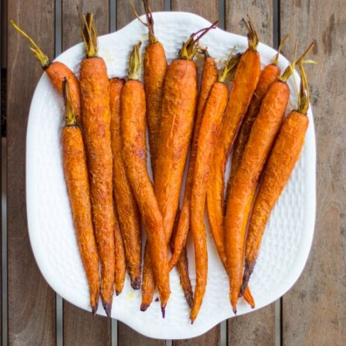 Simple Roasted Carrots With Cumin