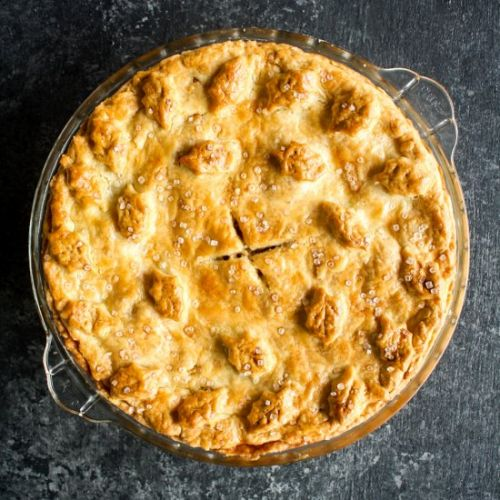 Apple Pie with Cream Cheese Crust