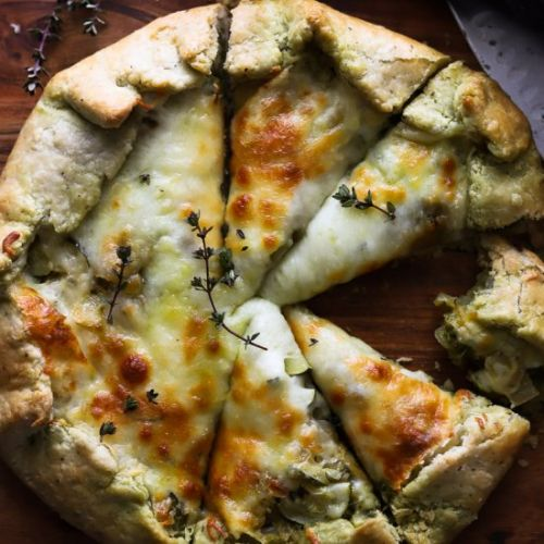 Spring Vegetable Galette