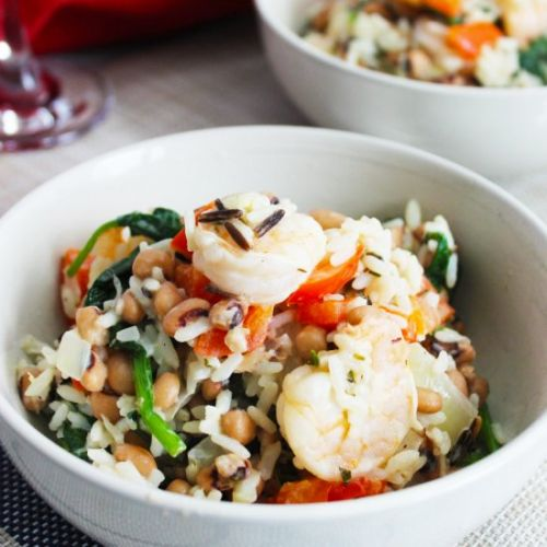 Shrimp and Rice Bowls