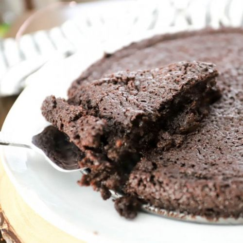 Swedish Gooey Chocolate Cake