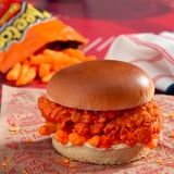 KFC's Outrageous Fried Chicken Sandwich With Cheetos and Cheese Sauce Is So Wrong, It's Right
