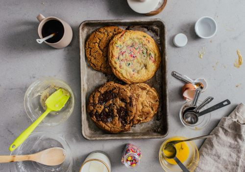 Small Batch Single Serving Giant Cookies