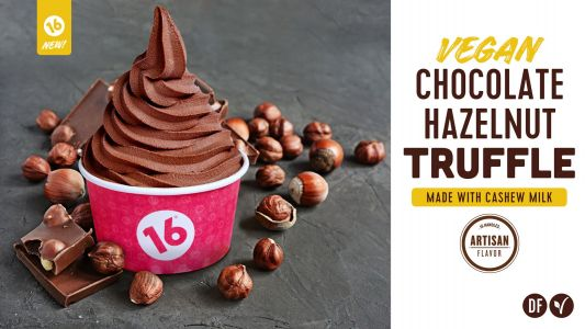 16 Handles Creates a New Alternative to Frozen Yogurt with Their Cashew Milk Based, Vegan Soft Serve