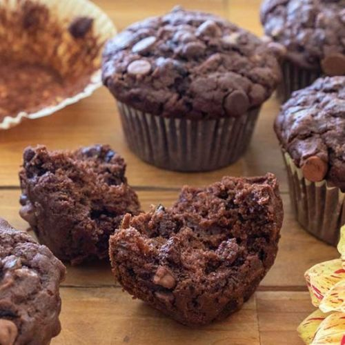 GF Chocolate Chip Zucchini Muffins
