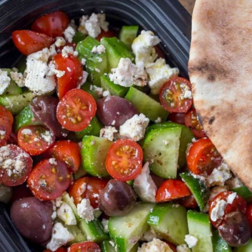 Easy Greek Salad
