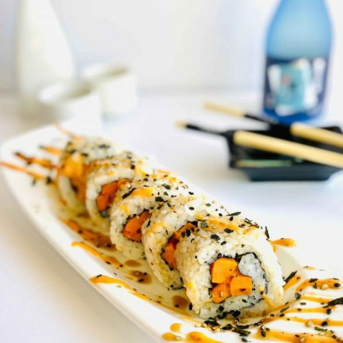 Sweet Potato Sushi Roll
