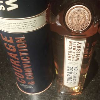 Second sip &: : virginia distillery courage & conviction whisky: :