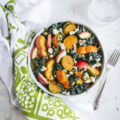 Healthy Fall Grain Bowl