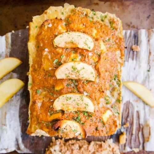 Apple And Sage Turkey Meatloaf