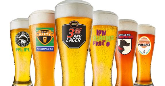 Buffalo Wild Wings Releases Craft Beer Collabs for Football Season