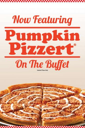 Pizza Inn Spices Up Its Menu With New Pumpkin Pizzert