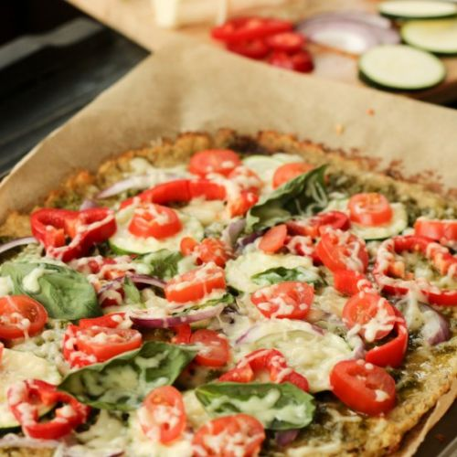 Healthy Cauliflower Pizza Crust