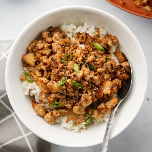 Asian Tofu 'Beef' Bowls