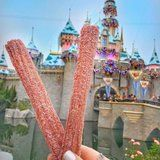 Disneyland Now Has Peppermint Candy Cane Churros, and We'll Take a Dozen!