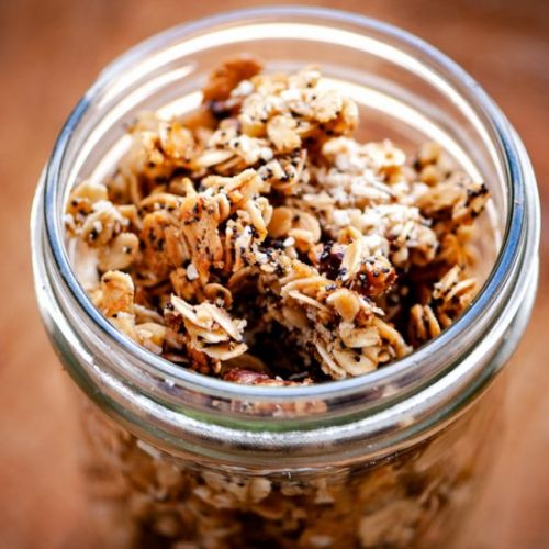 Lemon Poppy Seed Granola