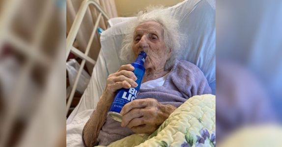 103-Year-Old Woman Survives Coronavirus, Cracks Open a Bud Light