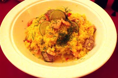 HAPPY NEW YEAR.. ! Fish Paella