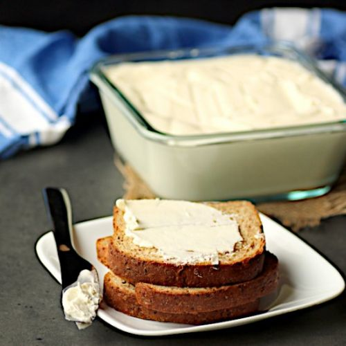 Homemade Spreadable Butter