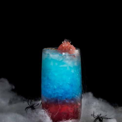 Layered Spiderman Cocktail