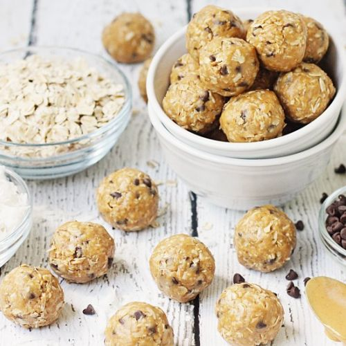 Double Peanut Butter Protein Balls