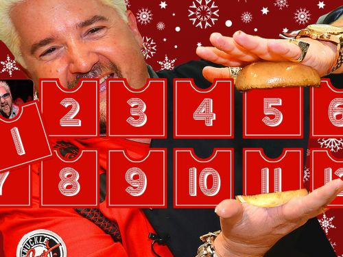 The 12 Days of Guy Fieri: A Look Back at the Pretzel Cart That Started It All