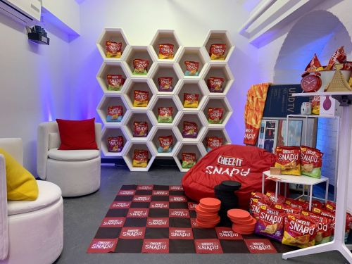 Inside the Brand Activation Cheez-It Bunker