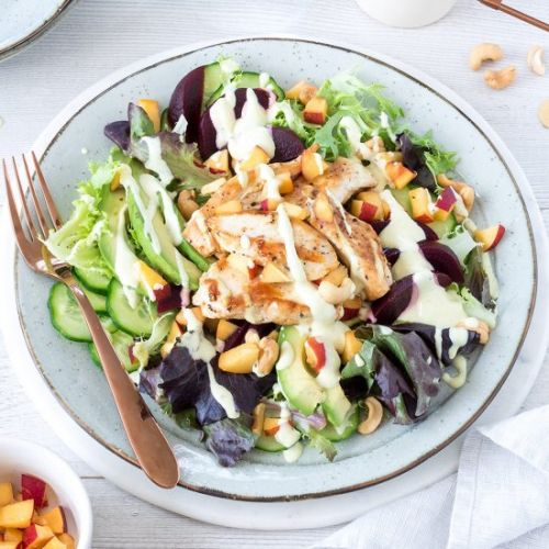Chicken and Nectarine Summer Salad