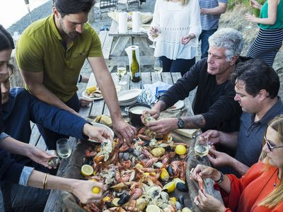 Anthony Bourdain Finds an Impressive Seafood Bounty in Seattle