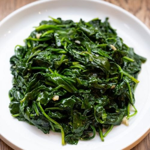 Garlic Sesame Spinach