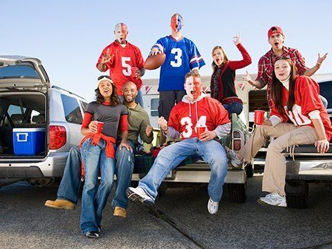 Tailgating with Total Wine. Game plan for the Total Tailgate!