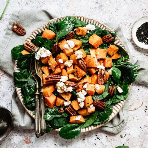 PECAN SPINACH SALAD