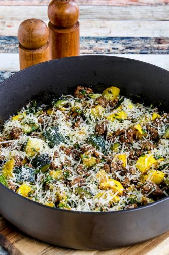 Italian Sausage and Zucchini Skillet Meal