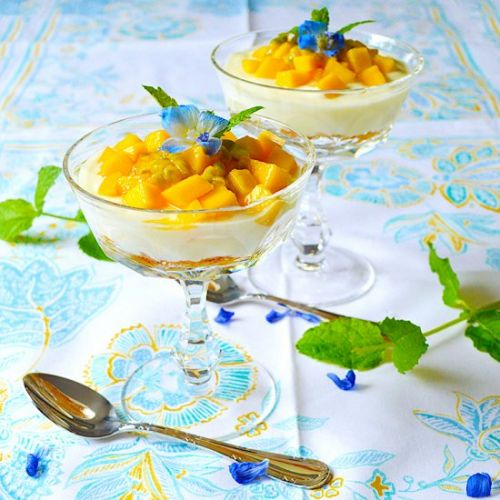 Cheesecake Passion Fruit & Mango