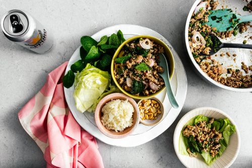 Larb Moo Pork Larb Recipe - Thai Pork Salad