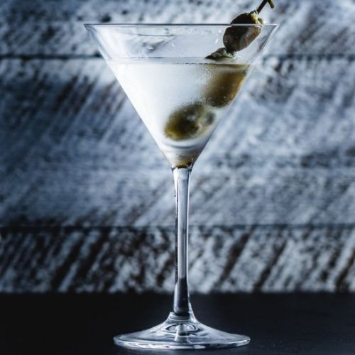 Blue Cheese Olive Martini