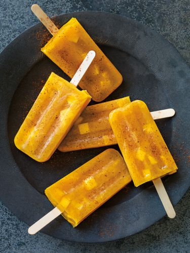 Mango-Chile Ice Pops
