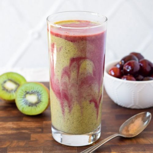 Dairy Free Cherry Kiwi Smoothie