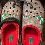 Christmas Crocs Have Hit Disney, and They're Lined With Cozy Red Fleece