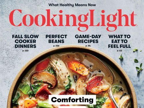 Beloved Food Magazine 'Cooking Light' Is Ending Regular Print Issues