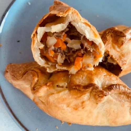 Pasties made with Hot Pastry