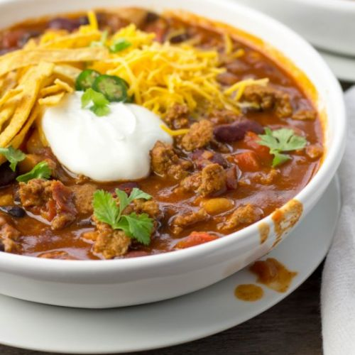 Crock-pot Turkey Chili