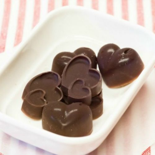 Chocolate Coconut Candy with Spicy