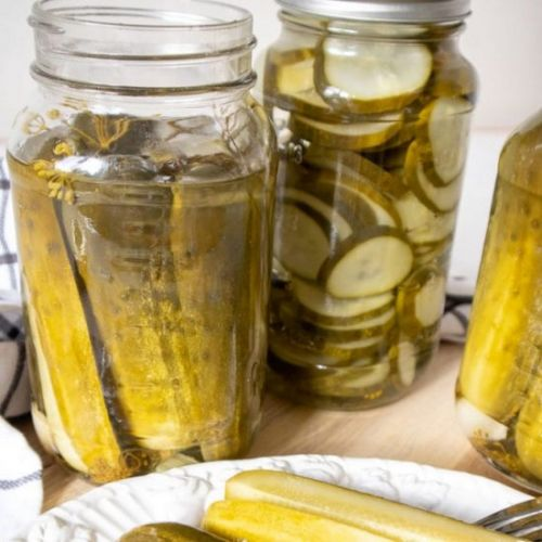 Easy Canning Pickles Recipe