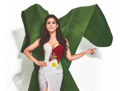This Miss Universe Dress Is Inspired by Malaysia's National Dish