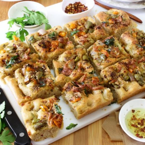 Herbed & Flavorful Focaccia Bread
