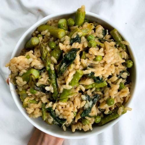 20 Minute Healthy Spring Risotto
